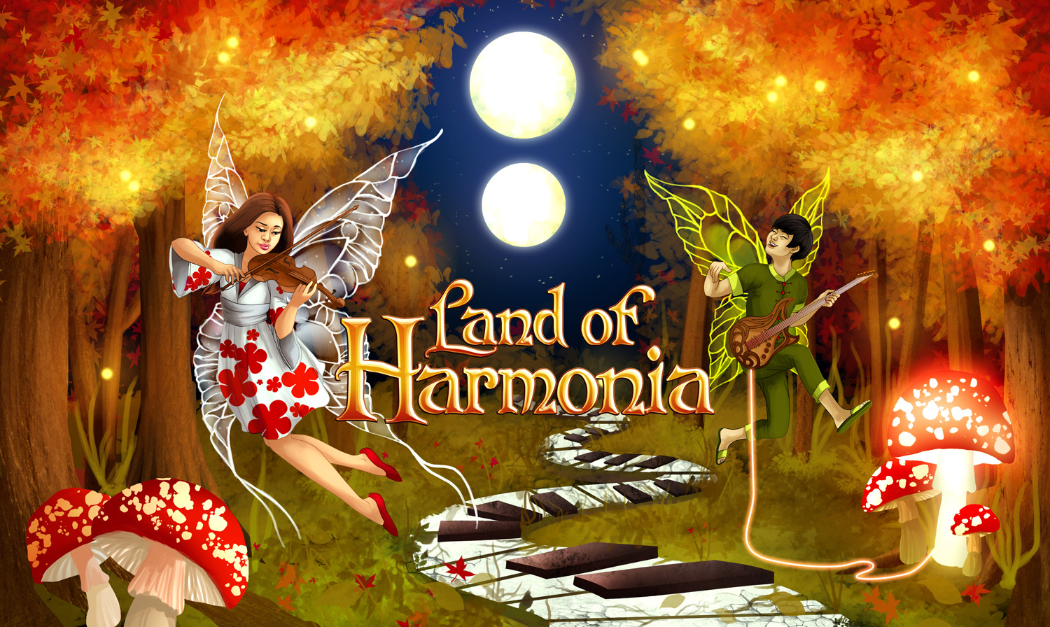 Land of Harmonia: Book and Card Game by JJ Frank — Kickstarter